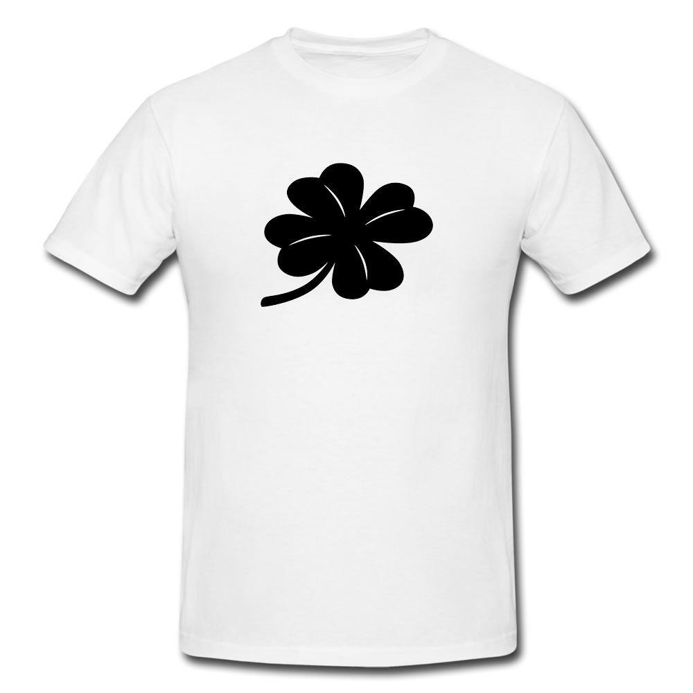 aaaeeb33b4f 4 Leaf Clover Funny Mens Or Lady Fit T Shirt T Shirt Funny Gift Novelty  Funny Unisex Tshirt Top Tees Cool T Shirts From Handdrawntees, $12.96|  DHgate.Com