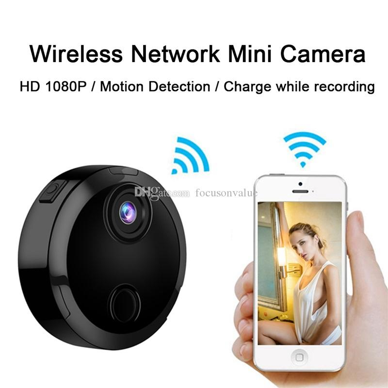HDQ15 Smart Wifi Mini Camera HD 1080P IP Network Camcorder 12 IR Night Vision Motion Detection Sensor Car Sports Action DV DVR