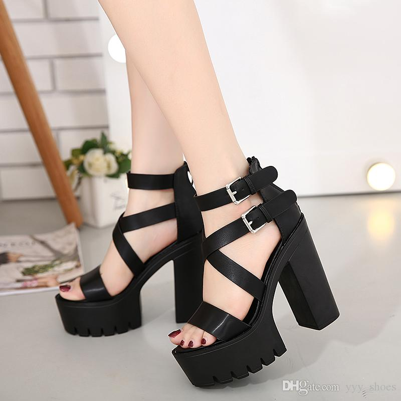 e02e4307828a Night Club Stage Dancing Shoes Sandals Boots Sexy Womens Shoes ...