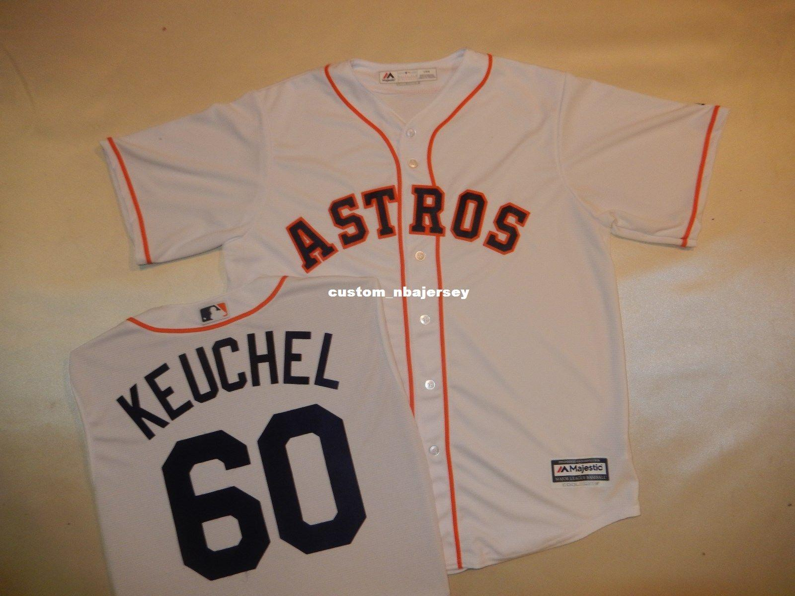 info for 7a5d5 6226a Cheap custom DALLAS KEUCHEL Baseball Jersey WHITE New Stitched Customize  any name number MEN WOMEN BASEBALL JERSEY XS-5XL