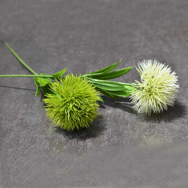 Dandelion Flowers Home Decorative 25cm plastic fake Artificial Flowers For Home party Wedding green real touch Decor