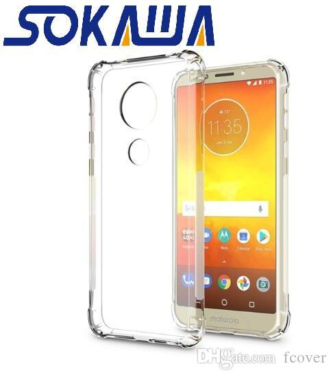 9f93ab83458 Personalizar Movil Funda Protectora Para Motorola Moto G7 Plus G7 Play G7  Piel Transparente Transparente Gel Suave TPU Funda Protectora De Silicona  ...