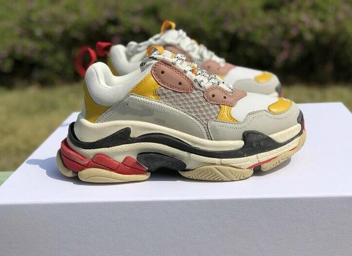 7d3258c8dfd7c Luxury Brand Dad Vintage Triple S Scarpe Dad Sneakers Speed Men Women  Luxury Designer Brand Triple S Designer Sneakers Sneakers Shoes Geox Shoes  From ...