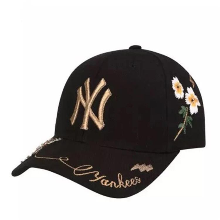 Luxury Bees Embroidery Fashion Floral Designer Caps Man Woman Baseball Cap for Mens Womens Caps Adjustable Hats Black 5 Colors High Quality