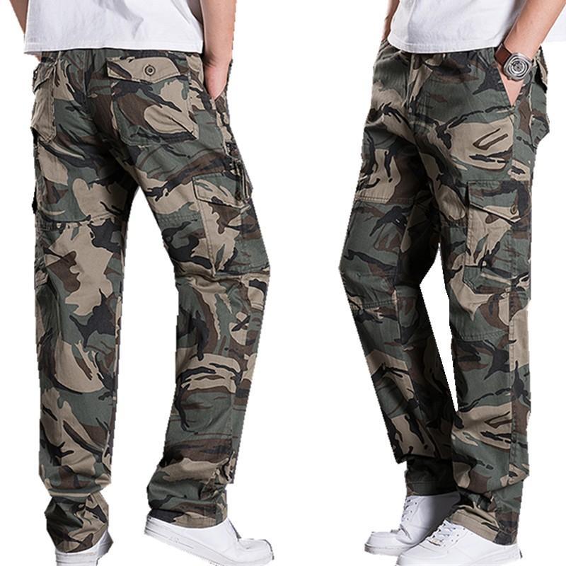 7bd0841519 Mens pantaloni sportivi da uomo all'aperto primavera dritto fuori porta  tuta pantaloni casual pantaloni larghi in forma maschile