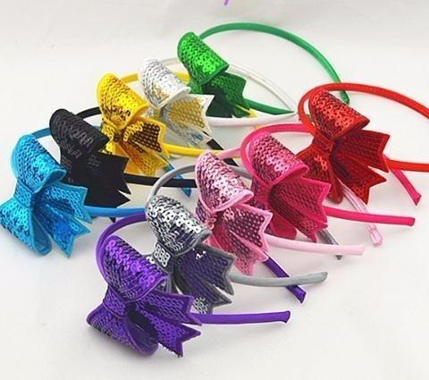 5c569876b22 2019 Solid Colors Beautiful Bows Baby Girls Hairbands Headbands Children  Hoop Accessories Boutique Headwear Hair Combs And Clips Hair Combs  Accessories From ...