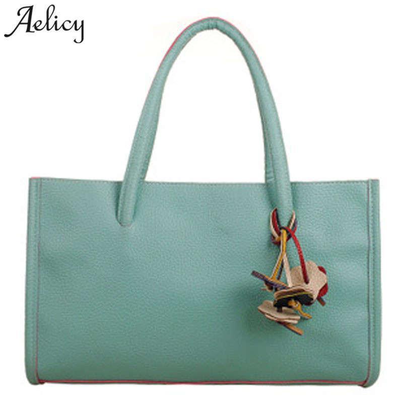 26159d8ddffc Designer Aelicy Famous Brand 2019 New Women Bags Female Handbags Shoulder  Bag Vintage Lady Big Handbag Soft Leather Tote Bags Bolsa Womens Purses  Leather ...