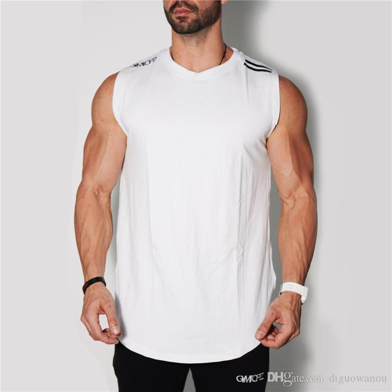 14e78554fef NEW Men Sleeveless Shirt Fitness Bodybuilding Sports Workout Fitness ...