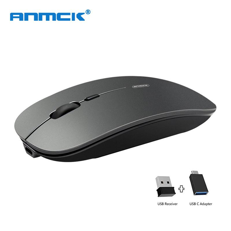 118c699bc89 2019 Rechargeable Wireless Mouse Silent Portable Computer Mause USB Mini  Mute Slim 2.4G Noiseless Optical Mice For PC Laptop Mouse From  Businesshome, ...