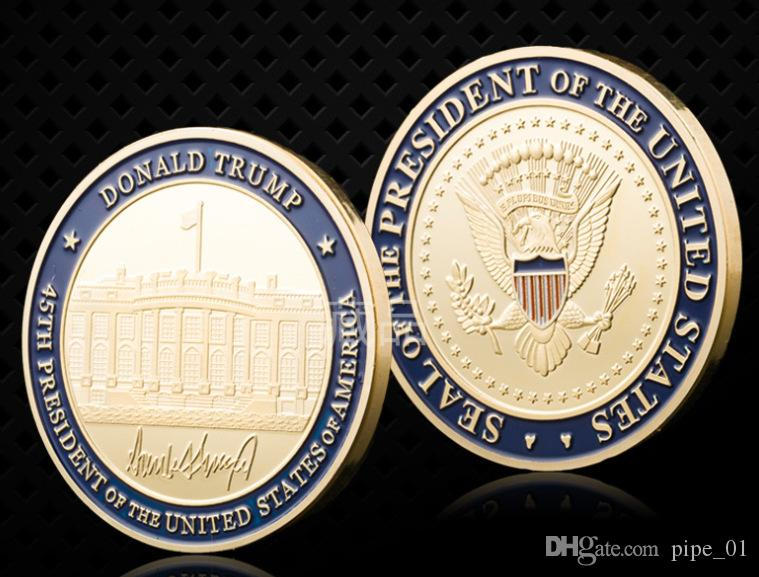 Donald Trump 2020 Keep America Great Commemorative Challenge Coin wholesale  price hot selling free ship