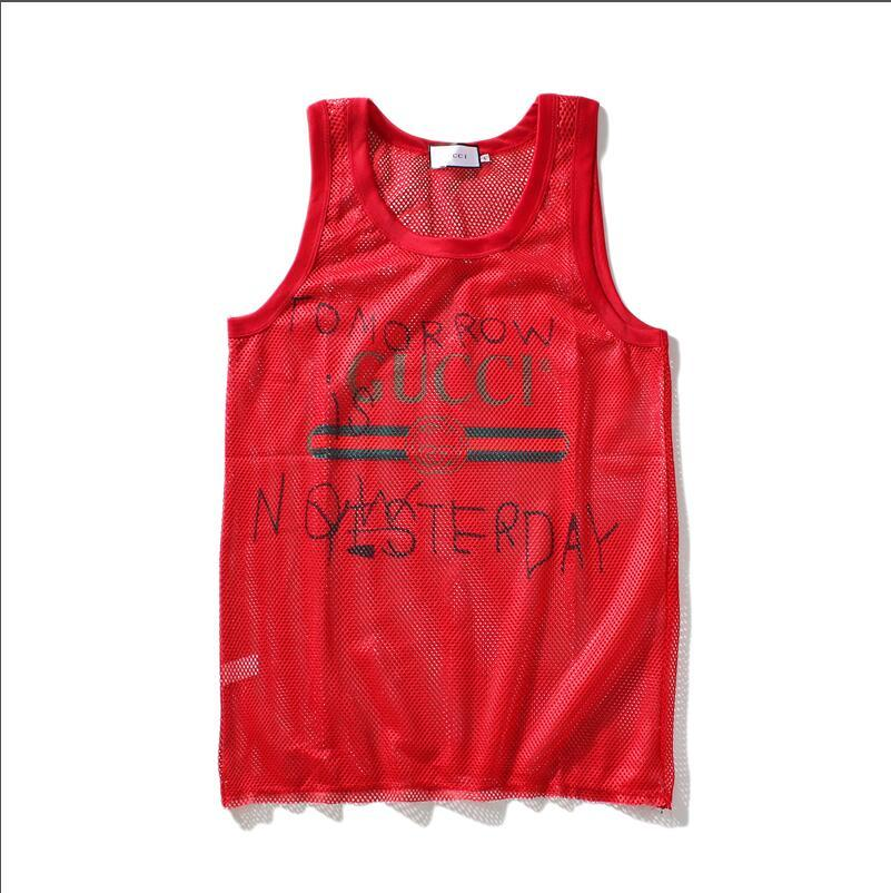 a5572681d30d1 2019 Perspective Mens Tank Top With Letters Fashion Sport Bodybuilding  Brand Gym Clothes Vests Tee Men S Underwear Tops M XXL From Sarahandbags