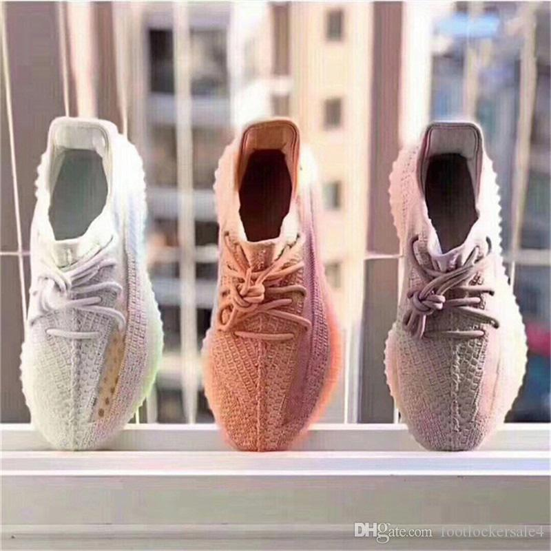 c4af93d832127 2019 2019 Newest 350 V2 True Form Hyperspace Clay Static Kanye West Men  Running Shoes Women Designer Sports Sneakers Trainers Shoes Size 5 13 From  ...
