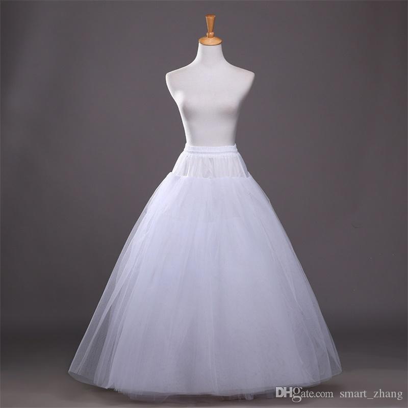 224019efda6c Vestido Para Madrinha Novas Camadas De Estilo Branco Anáguas Vestido De  Baile Elástico Nupcial Underskirt Para O Casamento Vestido Formal Casamento  ...