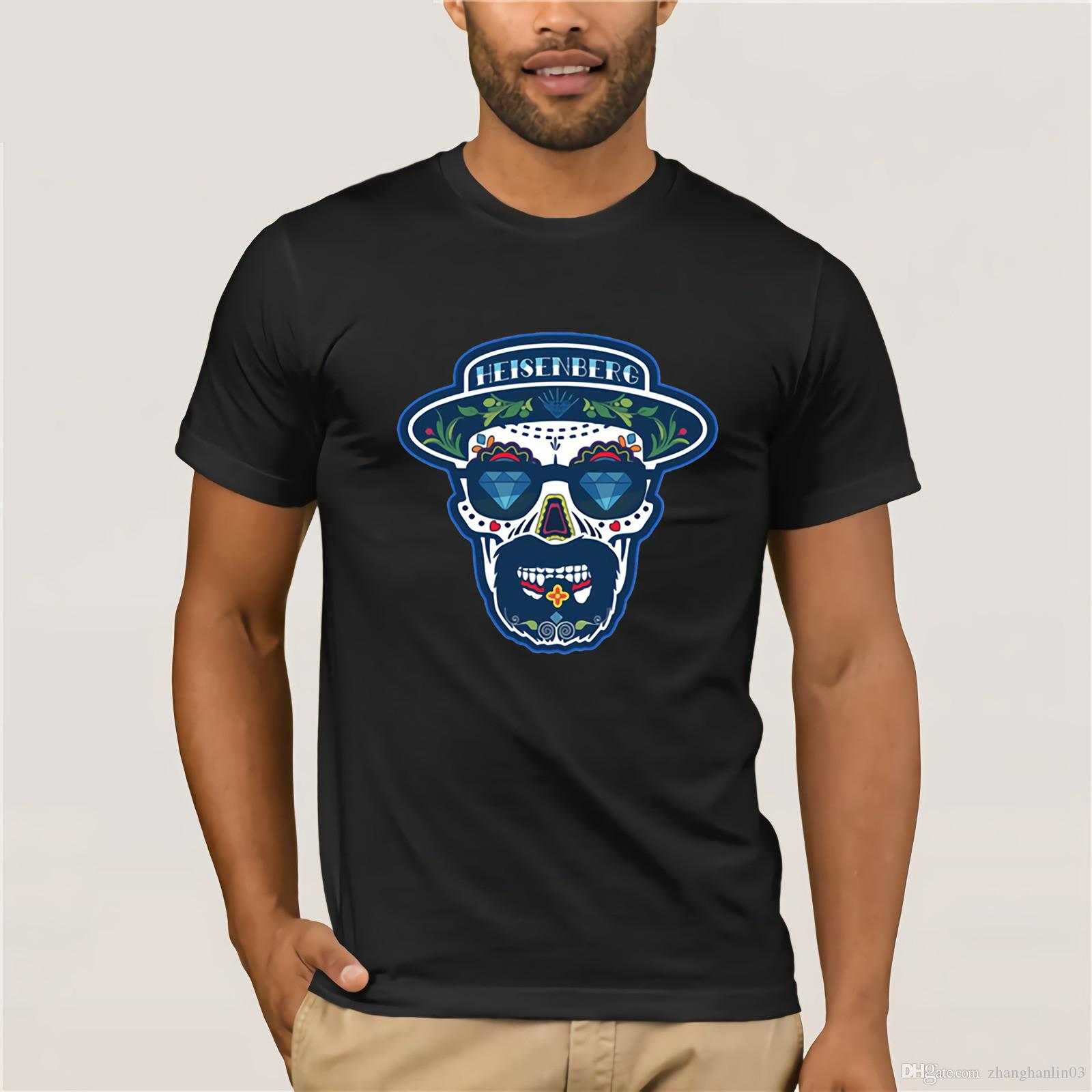 65d37f4947600 Camisetas Heisenberg Breaking Bad T Shirt Men Hermanos Cotton Short Hipster  Tees Walter White Cook Swag Heisenberg Men S T Shirt Ridiculous Shirts  Awesome ...