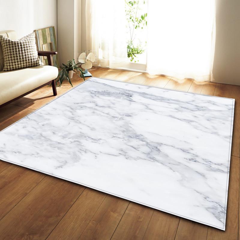 Nordic Europe White Black Marble Large Carpets Rugs Bedroom For Kids Living  Room Sofa Tatami Floor Mat Tapis Dywan Dropshipping