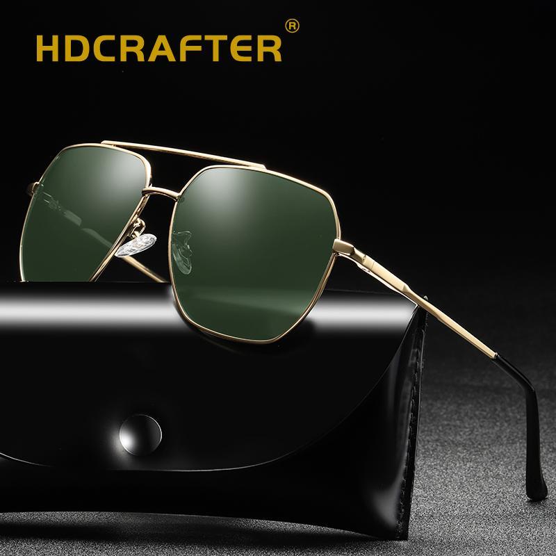 d5ccf356a4 Compre Hombres Gafas De Sol Polarizadas UV400 Espejo Gafas De Sol De  Conducción Para Gafas De Sol De Piloto Clásico Masculino Gafas De Sol De Alta  Calidad A ...