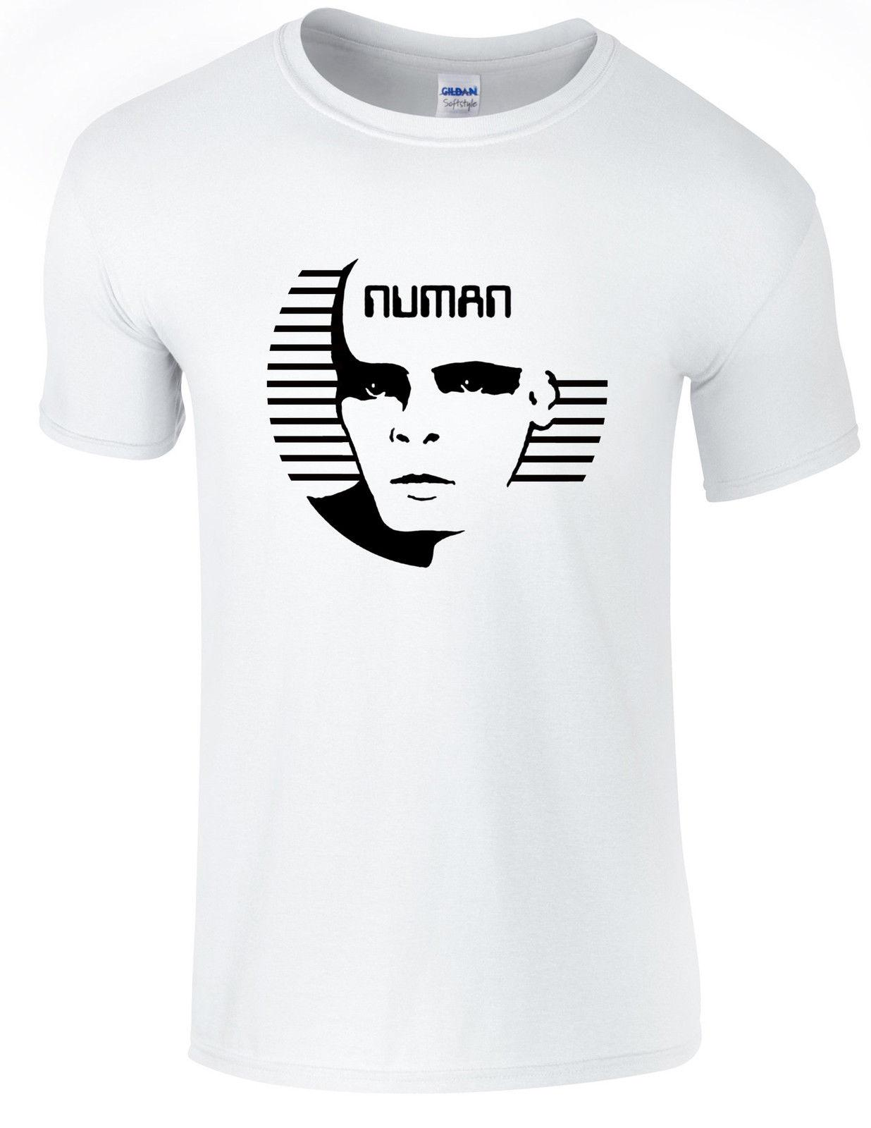 c8295ab6f73f3 Gary numan,tubeway army tribute T-shirt,all sizes available Funny free  shipping Unisex Casual