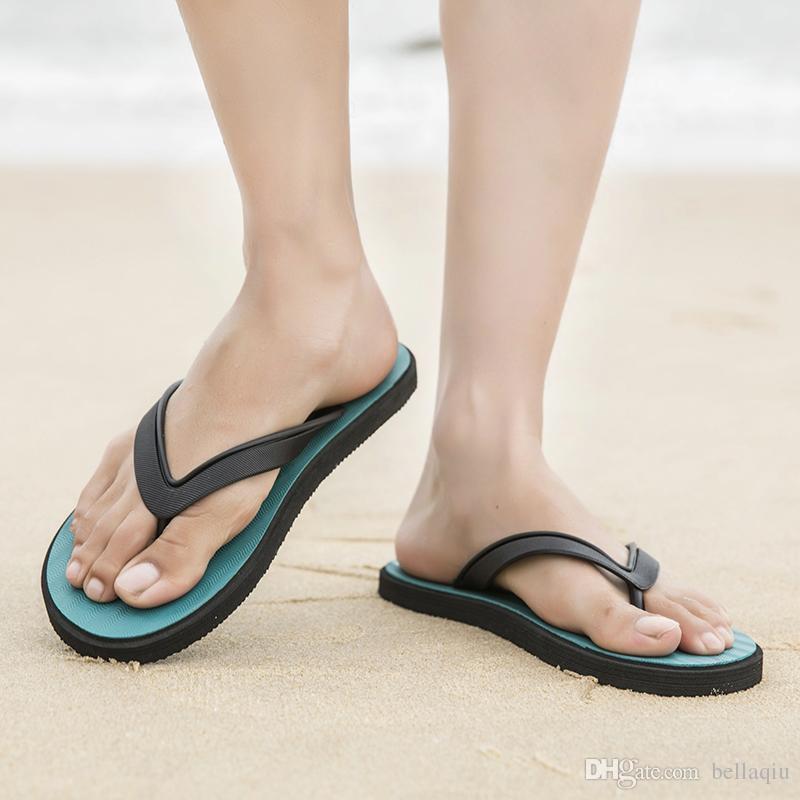 1ac001879e00 Classic David Beckham Brand Men S Casual Shoes Hawaiian Beach Slippers  Printing Non Slip Flip Flops Summer Men S Designer Platform Boots Womens  Trainers ...