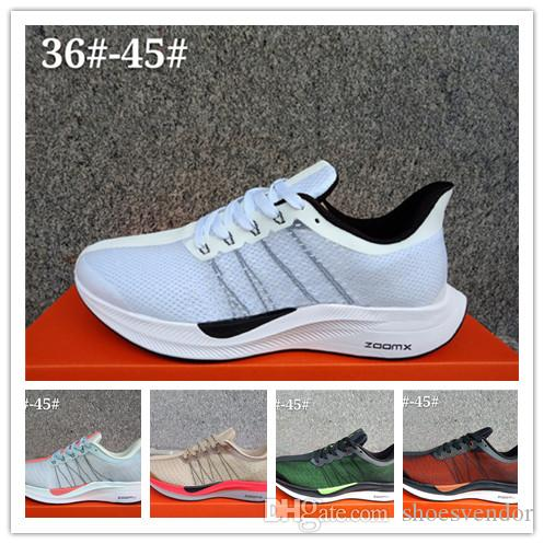 15a049339fedd 2019 Air Zoom Pegasus Turbo 35 Men Running Shoes Designer Shoes Luxury  Brand Black White Sneakers Trainers Hiking Outdoor Outdoor Sport Shoes Hot  From ...