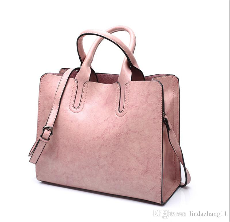 957e48ffdd6c 2019 Vintage Women Messenger Bags With Tassel Large Capacity Women Bags  Shoulder Tote Bags Famous Designers PU Leather Handbags 004
