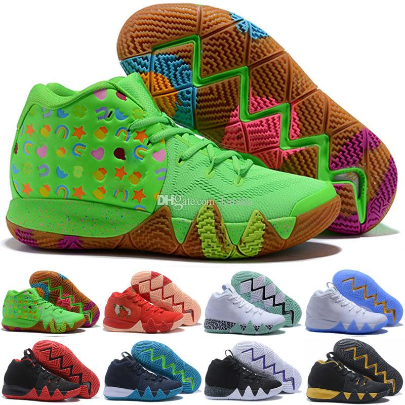 official photos 0e675 c7785 Kyrie IV Confetti Multicolor BHM EQUALITY All-Star March Madness City  Guardians London Mamba Basketball 4 Shoes
