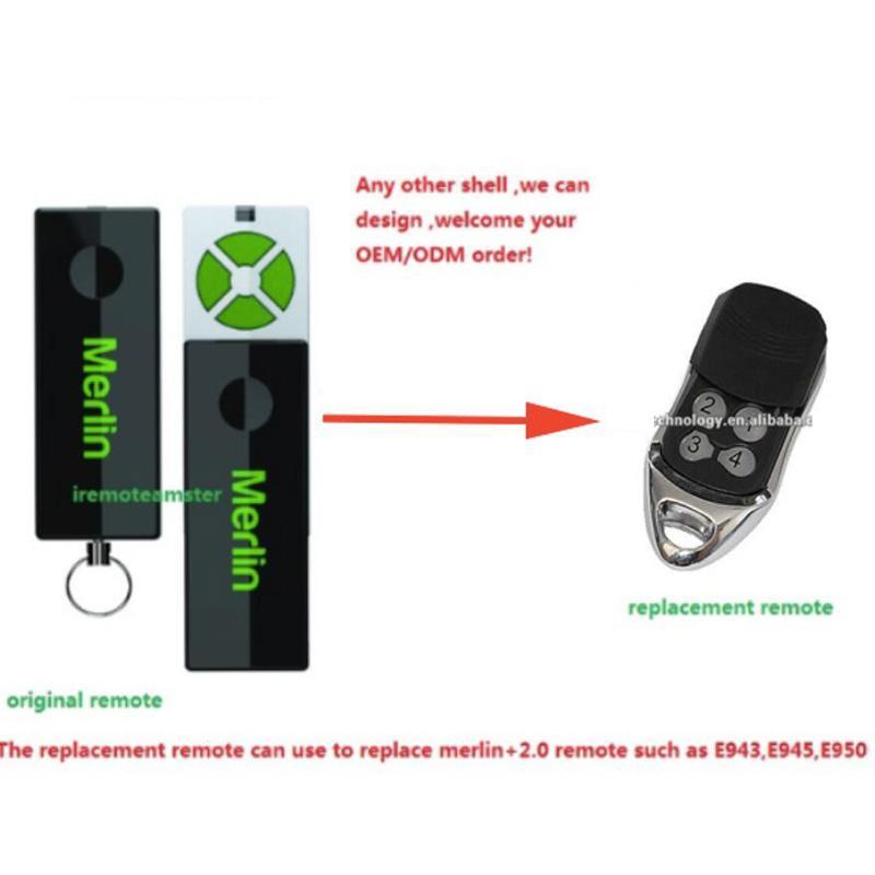 Aftermarket Merlin 2 0 remote E945,E950,E943,MRC950EVO, MR650EVO ,MR850EVO,  MT3850EVO remote control beautiful