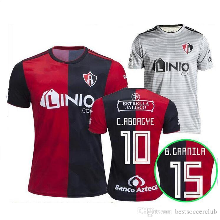 4d1dfe067 2019 2018 19 Mexico Club Atlas FC Soccer Jersey 2018 Home Red Away White 18  19 LEON NECAXA Queretaro Xolos De Tijuana Football Shirts From  Bestsoccerclub