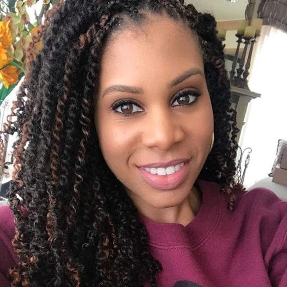 Jamaican Twists Hairstyles: 2020 Spring Twist Crochet Hair Wavy Braids Soft Synthetic