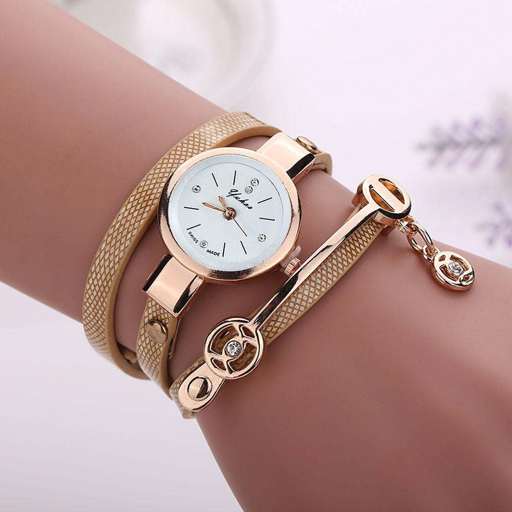 Compre Reloj De Pulsera Con Correa De Metal DISU Para Mujer Relojes Para Mujer  Reloj De Cuarzo Analógico Vogue Para Mujer A  35.18 Del Nectarine99  714526bab346