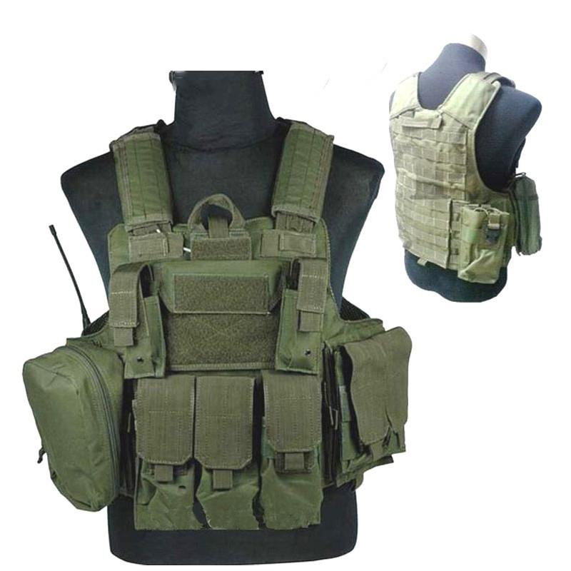 Vest steel wire tactical vest With 3 Pouches New Moller Combat Strike Plate Carrier 9.11 outdoor live cs