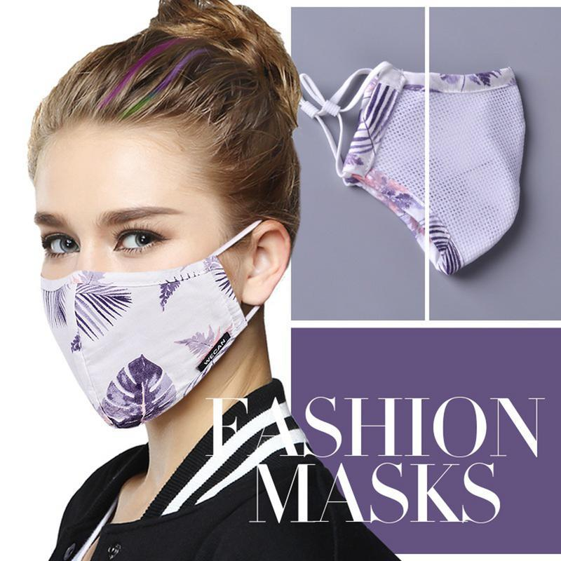 Women's Masks Apparel Accessories 1pcs Fashion Girls Face Mouth Mask Anti Dust Filter Windproof Mouth-muffle Bacteria Proof Flu Care Reusable