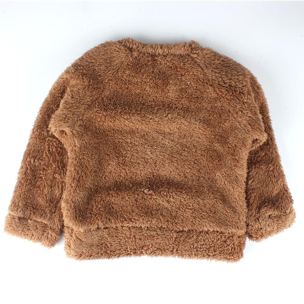 c71474cdb204 Louse Tunic Newborn Winter Warm Thick Fleece Baby Sweaters Infant ...