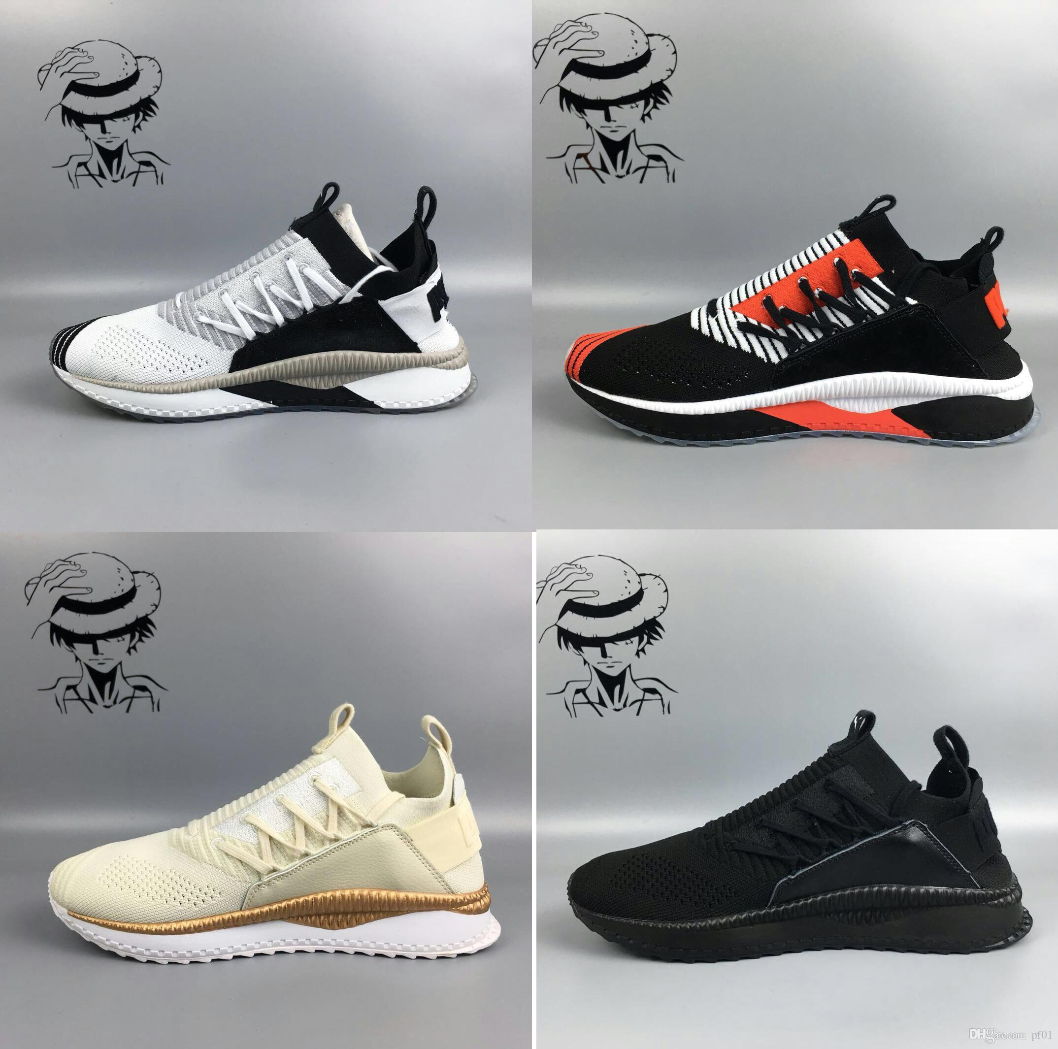 5eb72aef7fe Hot Sale TSUGI JUN Cubism Women Mens Running Shoes Sneakers Creeper Camo  Black Gold Tiple White Running Shoes Online with  90.18 Pair on Pf01 s  Store ...