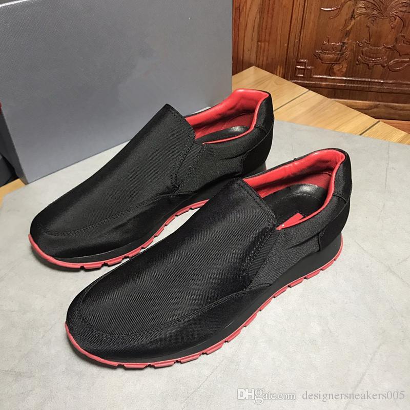 f48448f212e Compre 2018 Zapatos De Diseñador Más Nuevos Blancos Negros Hombres Mujeres  Mocasines Zapatillas De Deporte De La Marca De Moda De Lujo Zapatos Planos  Al ...
