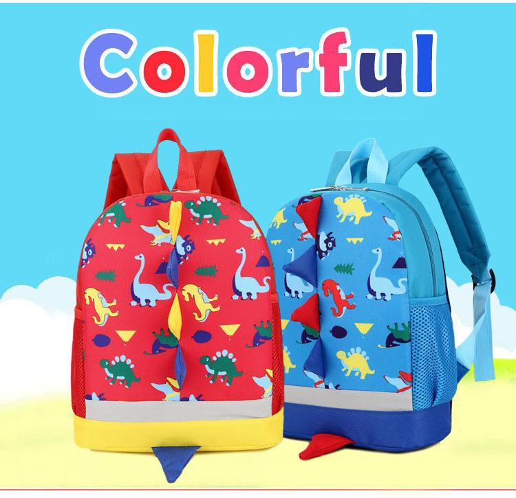 Preppy Kids School Bag Dinosaur Backpack For Boys Children Backpacks  Kindergarten Small SchoolBag Girls Cute Animal Rucksac Back Pack Cute  Backpacks From ... b82400e649
