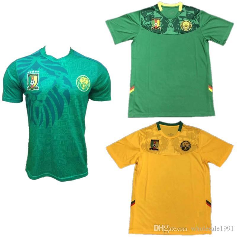 online retailer 60926 f0295 Kamerun 2019 Afrika Cup Fußball Trikot 19/20 # 10 ABOUBAKAR # 13  CHOUPO-MOTING Fußball Uniform Herren 2016/17 ETO O Fußball Trikot