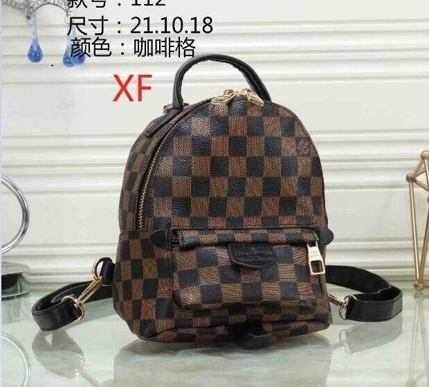 311a1c03c2 2019 Louis Vuitton Shoulder Bag Female 2019 New Type Baidan Backpack  Fashion Bag Mini Bag Tide A118