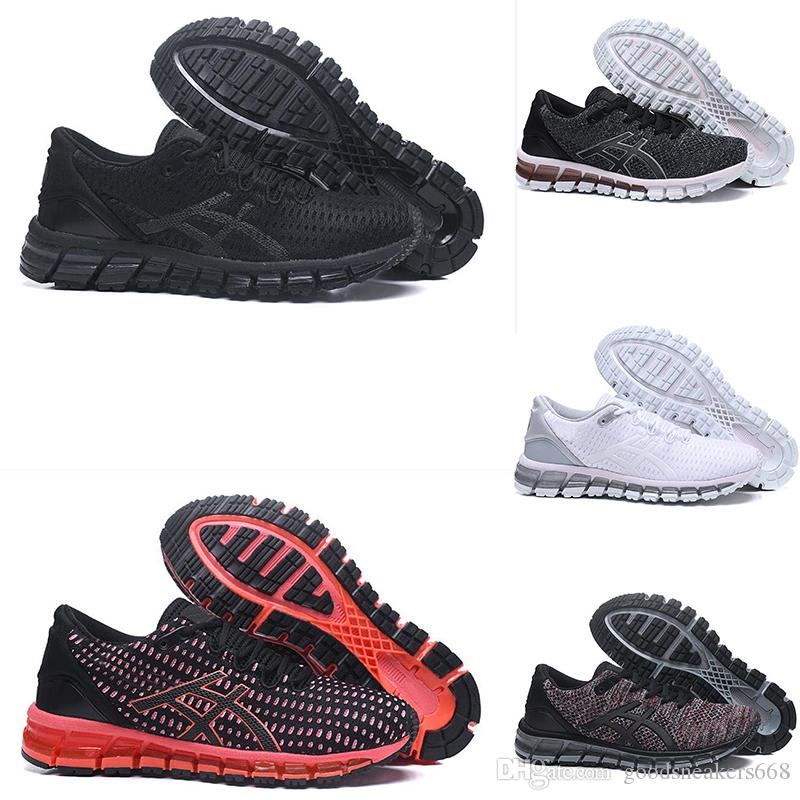 e0c5985ca Wholesale Asic Gel Cushion Running Shoes Sneaker For Men Chromatic Triple Black  White Womens Top Athletics New Mens Desigenr Sneakers Womans Running Shoes  ...