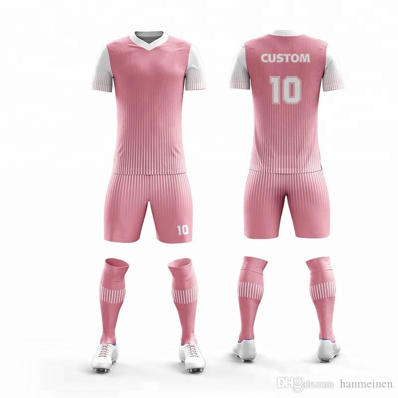 huge selection of da71c a0af2 customize Kids blank short sleeve soccer jerseys youth football jersey boys  plain soccer uniforms any logos children sports jersey
