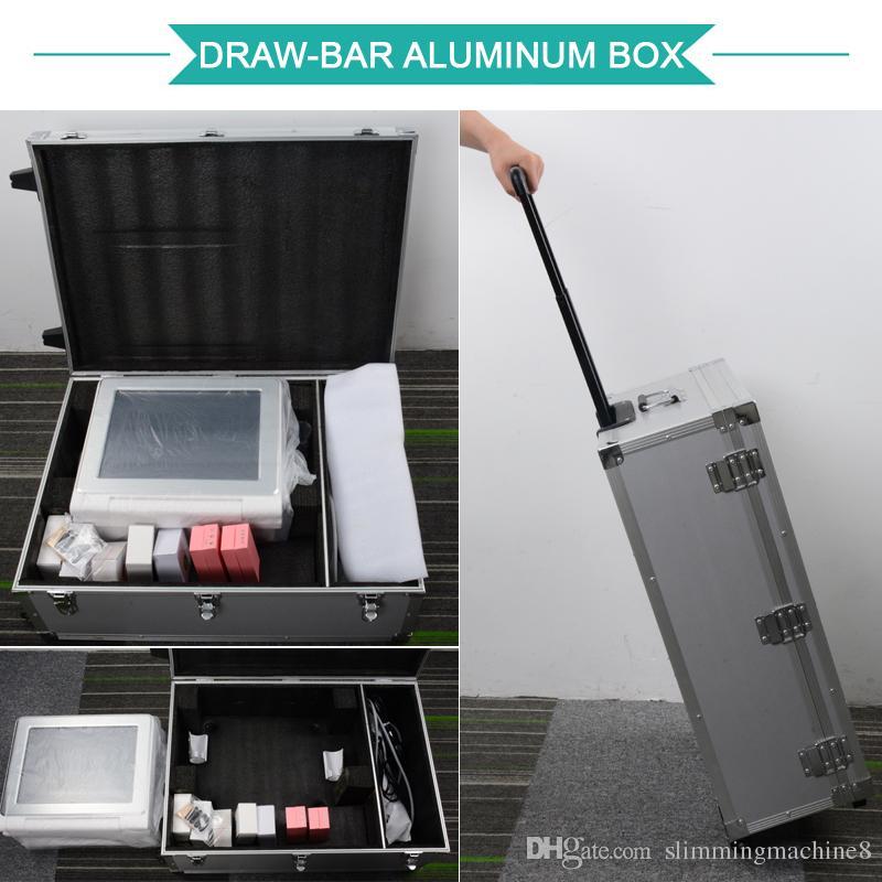 HIFU máquina 2019 Ultrasonido de alta intensidad HIFU para el lavado de cara de adelgazamiento equipo de la belleza de ultrasonido