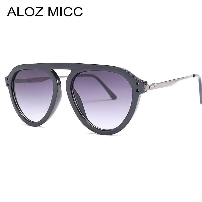 8833073fcc ALOZ MICC Fashion Women Cat Eye Sunglasses Men 2019 Brand Designer ...