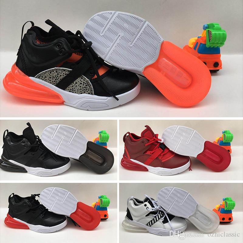 29173a131f235f 2018 Baby 270 V2 Kids Running Shoes Originals 27C OG Half Palm ...