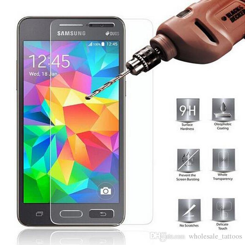 d22d2a6dee7 Plastico Protector De Pantalla Para Celulares 0.33mm Protector De Pantalla  De Cristal Templado Para Samsung Galaxy S3 Mini I8190 S4 Mini I9195 S5 Mini  G800F ...