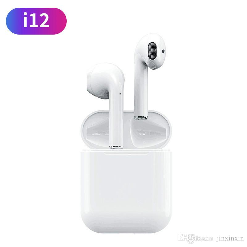 fba30d95a41 Original I12 TWS 1:1 Air Pods Wireless Bluetooth 5.0 Super Bass Stereo  Earbuds Pk I9s I11 I10 Tws For Xiaomi Ture Apple Ear Pods Razer Headphones  Wireless ...