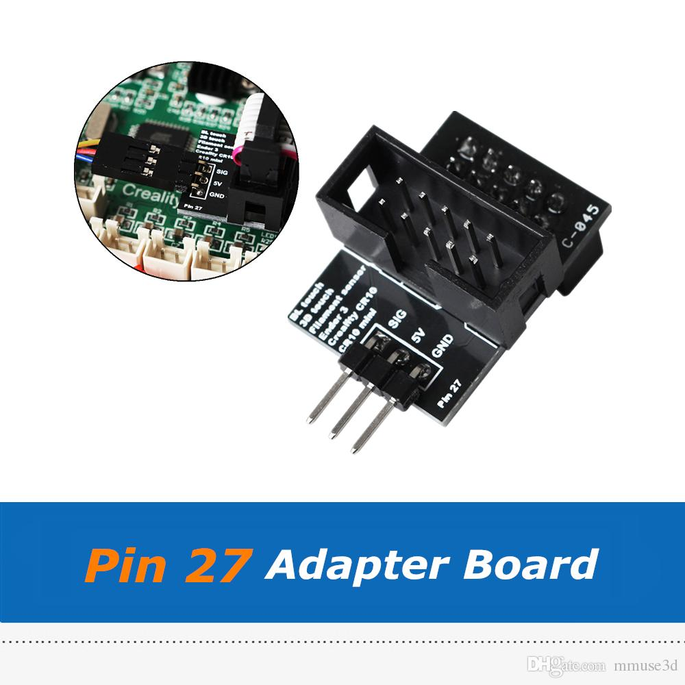 4pcs Pin 27 Adapter Board Module Sensor Wider Power Channel For CR-10  Ender-3 Ender 3 Pro BL-Touch 3D Printer Parts
