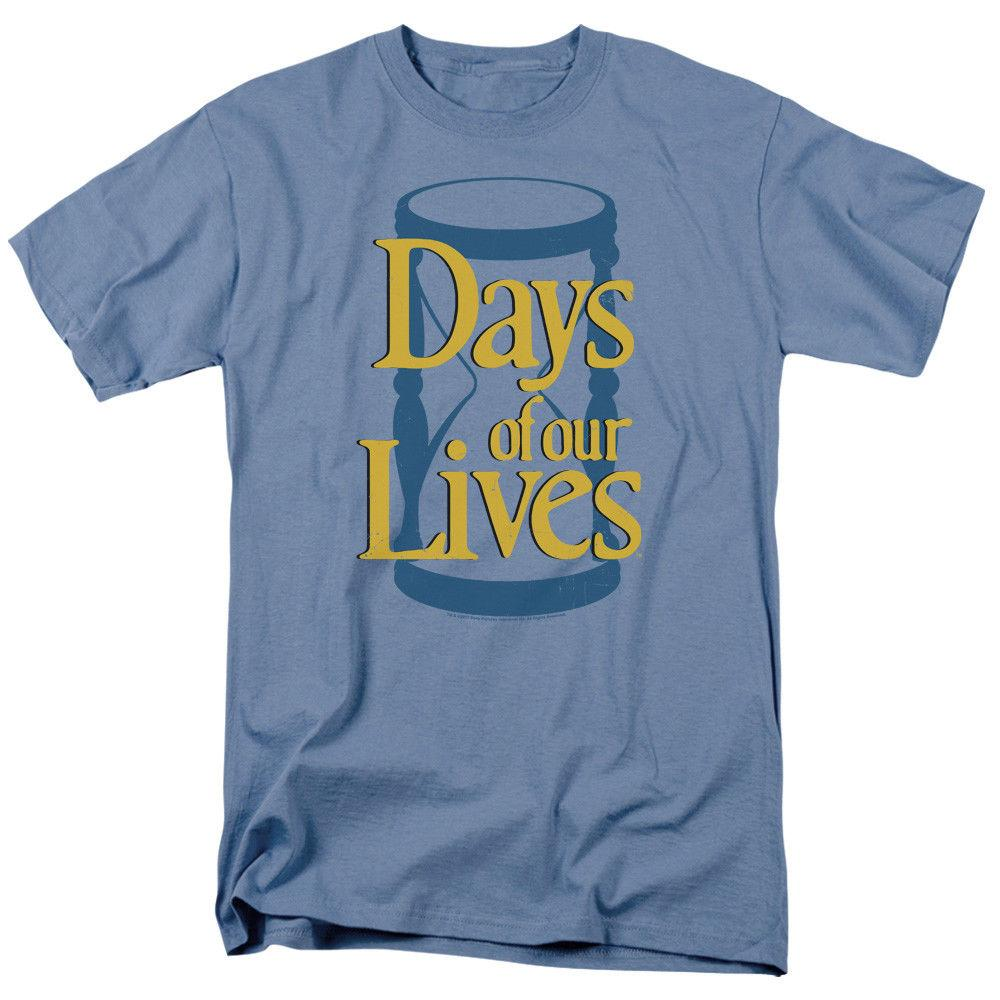 Days of Our Lives TV Show Soap Opera HOURGLASS LOGO Adult T-Shirt All Sizes  Men Women Unisex Fashion tshirt Free Shipping