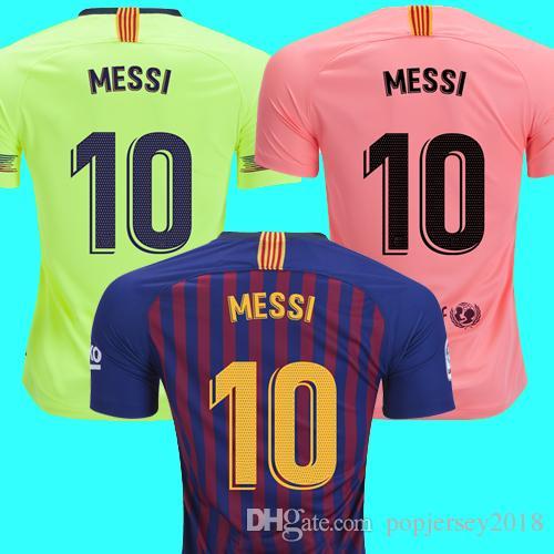 d4567813893f8 2019 18 19 Messi Soccer Jersey Barcelona 2018 2019 Camiseta De Futbol  Coutinho Football Shirt Suarez Camisa De Futebol Dembele Maillot De Foot  From ...