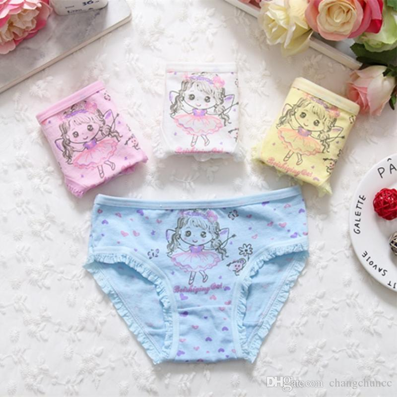 Girl Panties Cotton Children Breathable Underwears Briefs Panties For Girls Kids Shorts Pants