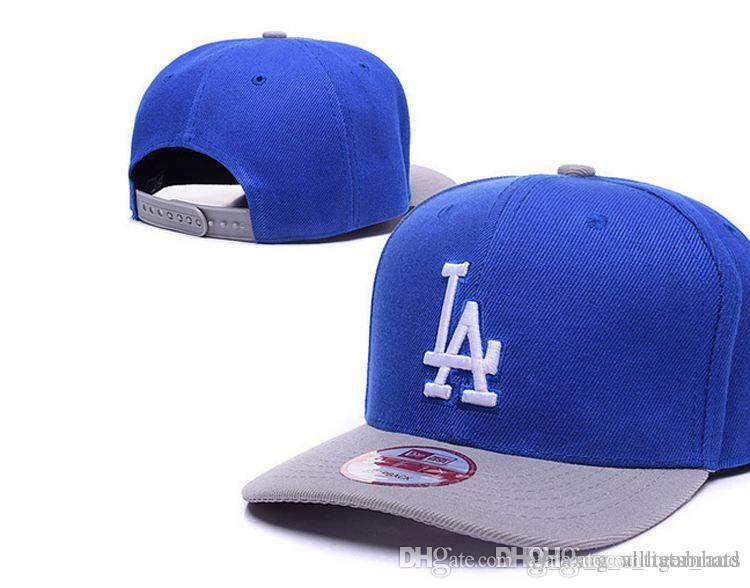 Free Shipping New fashion men top Sale LA Baseball Fitted Hats Mens,Sport  Hip Hop Fitted Caps Womens,Fashion Cotton Casual Hats Designer hat