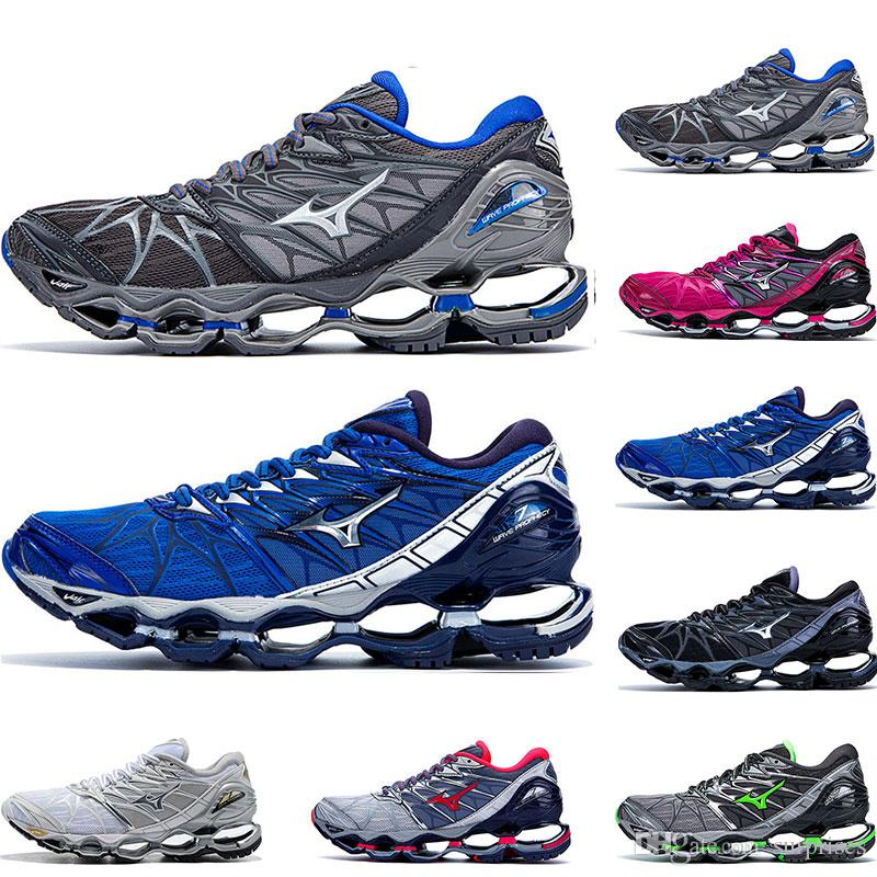 Classic Original MIZUNO WAVE Prophecy 7 professional Mens Shoes Outdoor Air Cushioning Sport sneakers Men Weightlifting Shoes Size 40-45